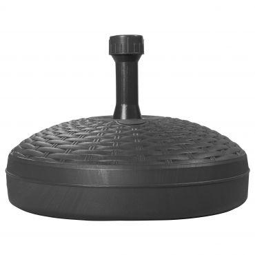 Füllsockel Rattan Base 45cm - 18 Liter - für Rohr 19-33mm