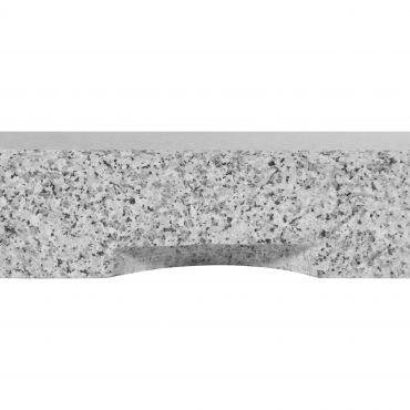 Granit Design-Platte ECO 55kg grau