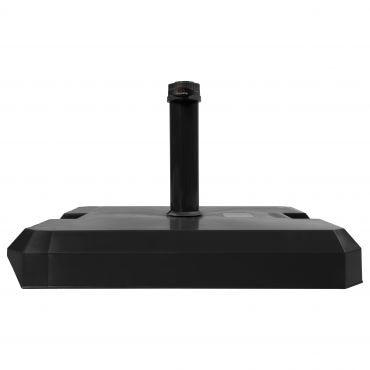 Profi-Beton-Rollsockel 42 kg mit HD-PE Mantel anthrazit - für Rohr 26-33-39-45-50mm