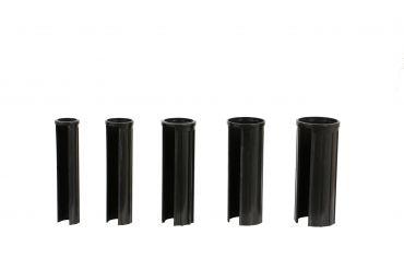 Granitsockel-Reduzierringe XL Innendurchm. 52,48,38,32,25 mm schwarz, Länge 150mm