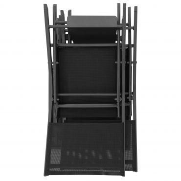 EXPERT Balkonset mit Tisch und Stühlen inkl. Haken zum Aufhängen und Auflagen - foto 2