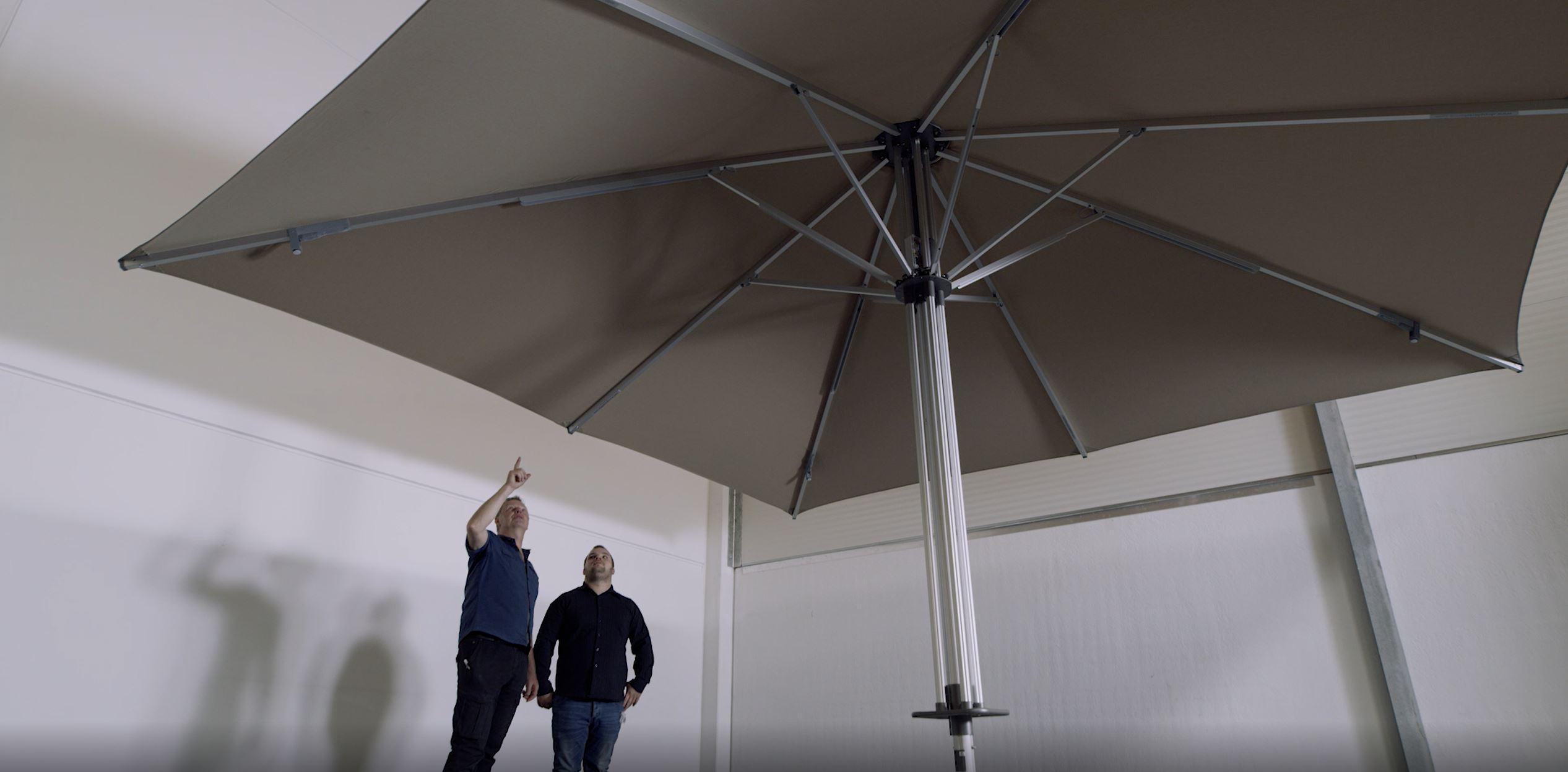 doppler Sonnenschirme überzeugen mit hoher Qualität