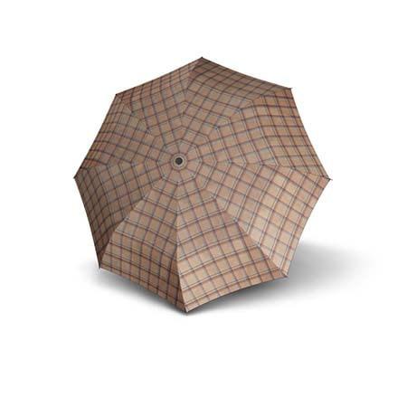 Regenschirm-Carbonsteel-Karo-10-offen